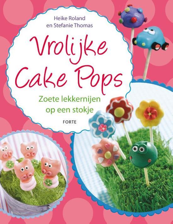 Vrolijke cake pops