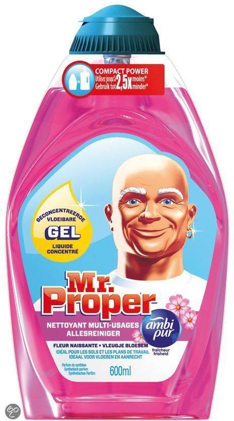 Mr. Proper Bloesem - 600 ml - Geconcentreerde Allesreiniger Gel