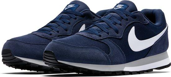 Nike Heren Sneakers Md Runner 2 Men - Blauw - Maat 40