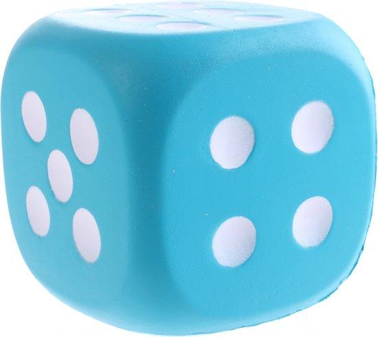 Afbeelding van het spel Johntoy Dobbelsteen Eva Foam 12 Cm Blauw