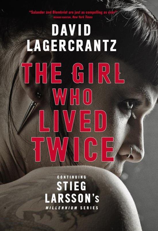 Boek cover The Girl Who Lived Twice van David Lagercrantz (Paperback)
