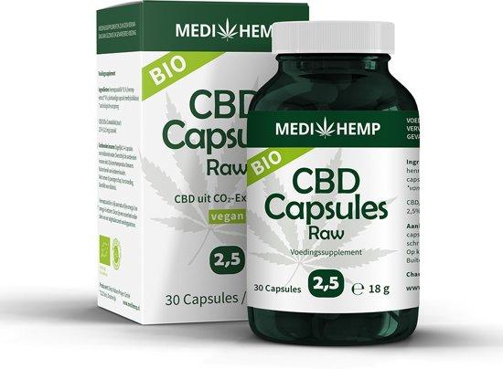 Bolcom Medihemp Cbd Capsules 25 30 Capsules