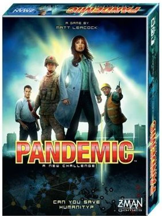 Afbeelding van het spel Pandemic - Engelstalig bordspel - Tweede editie
