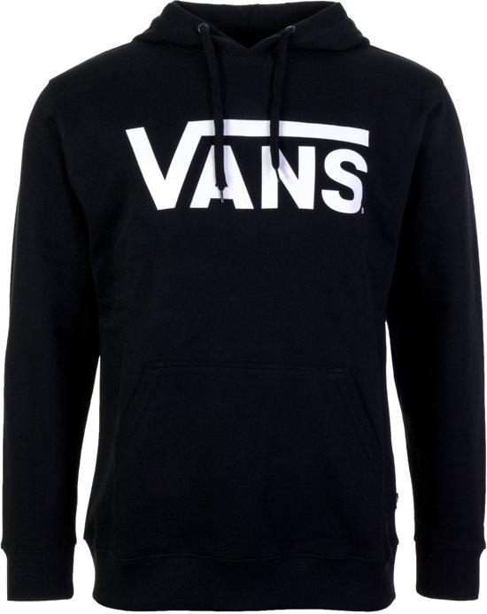 vans hoodie zwart