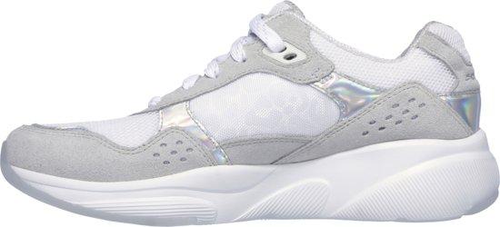 no Sneakers Natural Dames Skechers Worries Meridian White Maat37 w5HnTzq