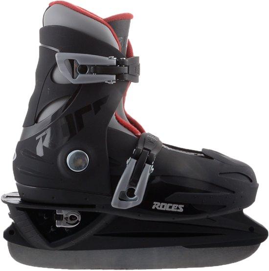 Roces MCK ll IJshockeyschaats Jr - Verstelbaar - Maat 30-35 - Zwart-Rood