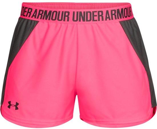 Under Armour Play Up Short 2.0 Sportbroek Dames - Mojo Pink - Maat M