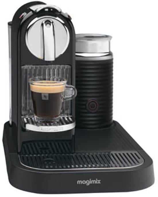 Nespresso Magimix CitiZ & Milk M190 - Zwart