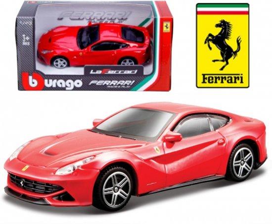 Speelgoed modelauto Ferrari F12 Berlinetta rood 1:43
