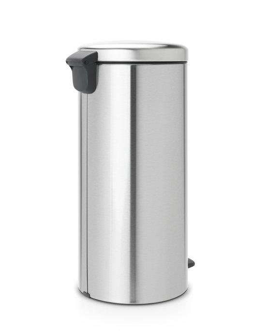 Brabantia NewIcon Pedaalemmer 30 Liter Mat Staal