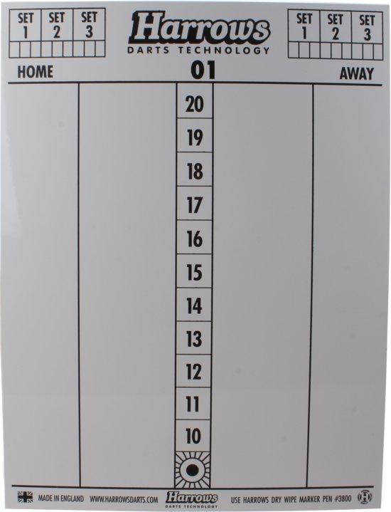 Harrows Dry wipe scoreboard met stiften