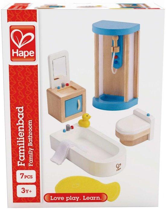 Hape Houten Badkamerset voor poppenhuis