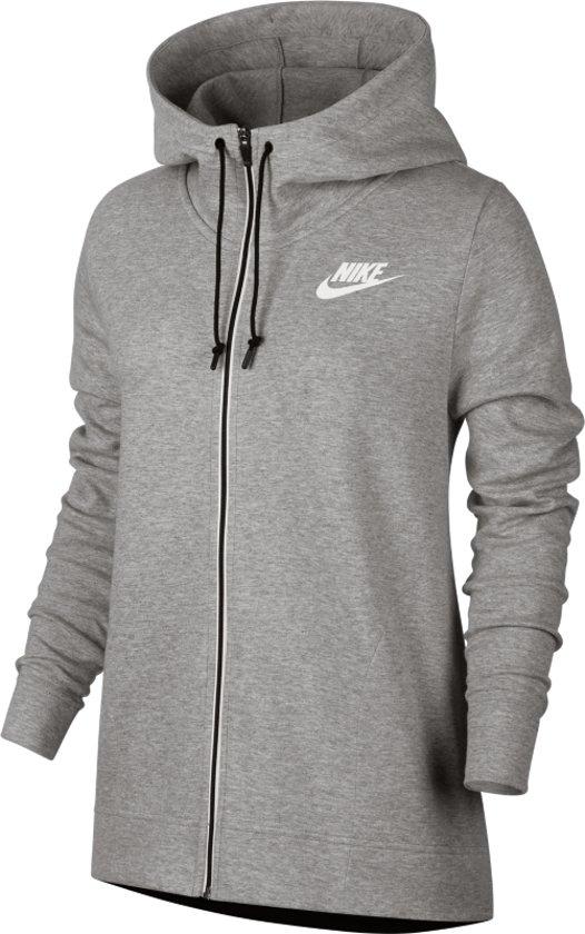 15 Sportswear Grijs Vrouwen M Hoodie Nike Advance Sweatvest Dames SporttruiMaat lTFK1Jc