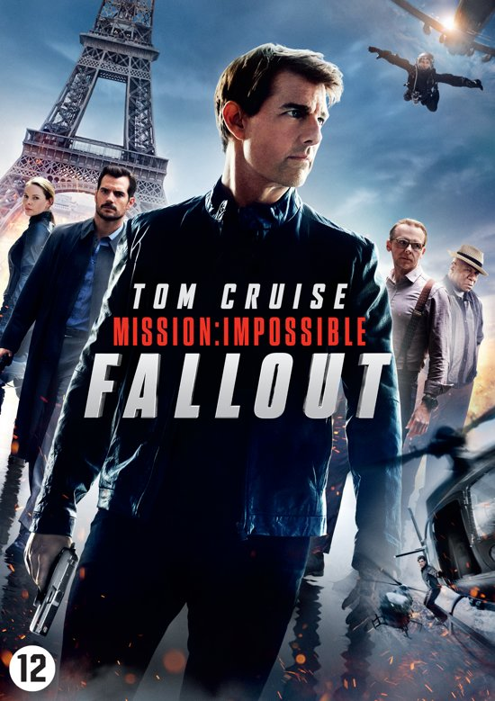 DVD cover van Mission: Impossible 6 - Fallout