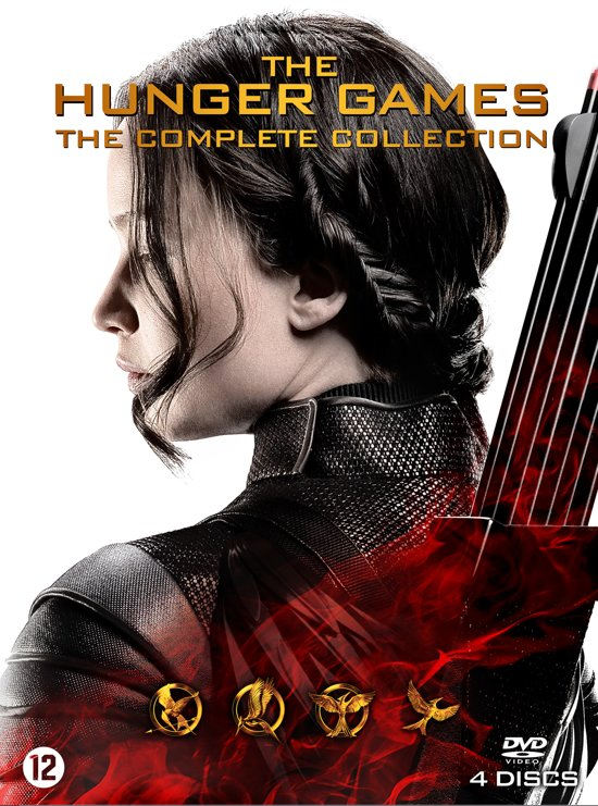 DVD cover van The Hunger Games: The Complete Collection