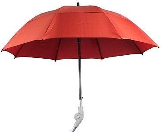 Paraplu voor rollator rood