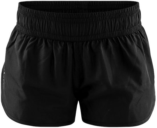 Craft Eaze Woven Shorts Dames Sportbroek - Zwart - Maat L