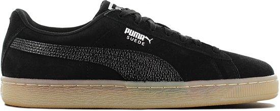 Puma Suede Classic Bubble 366440-01 Dames Sneaker Sportschoenen Schoenen Zwart - Maat EU 37 UK 4