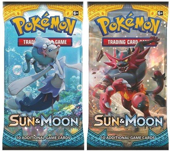 Afbeelding van het spel 2 Pakjes Pokemon Kaarten Sun & Moon Booster