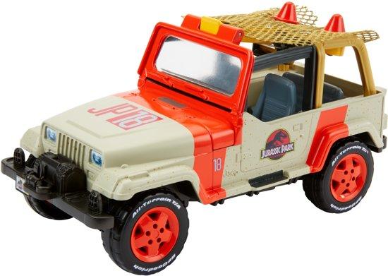 Matchbox Jurassic World Movie Jeep Wrangler met Vangnet