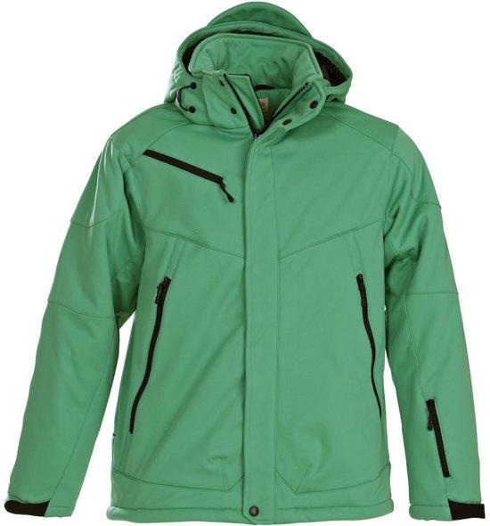 Printer Skeleton Softshell Jacket Fresh green S