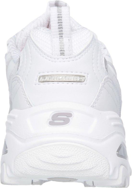 Silver Sneakers White Fresh 41 D'lites Start Maat Skechers Dames FqYtxa