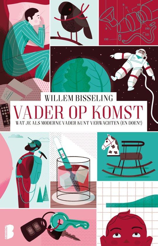 Boek cover Vader op komst van Willem Bisseling (Onbekend)