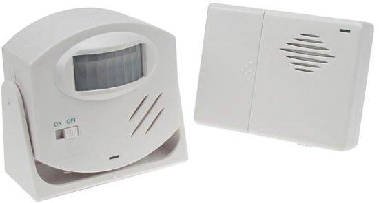 Velleman HAM25 alarm/deurbel draadloos met PIR bewegingssensor
