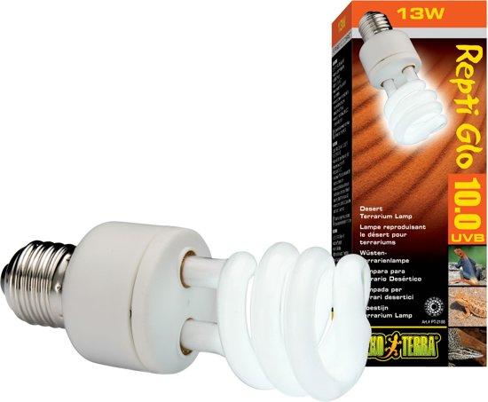 Exo Terra Terrarium verlichting UVB 150 E27 - Wit - 13w