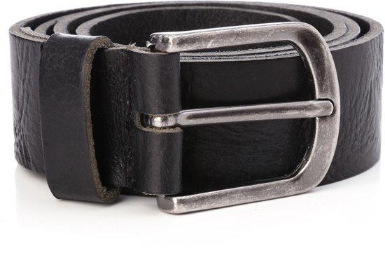 Tannery Leather Kledingriem Herenriem Leer - Zwart - 85 cm