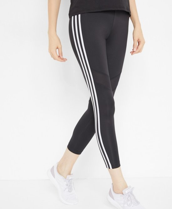 bol.com | Adidas Tight Dames 7/8- Zwart/Wit- Maat XL
