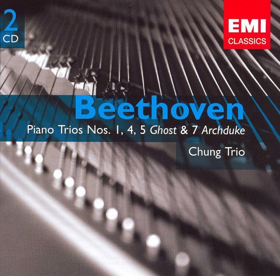 "Beethoven: Piano Trios Nos. 1, 4, 5 ""Ghost"" & 7 ""Archduke"""