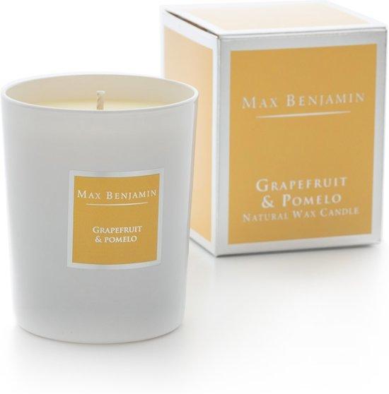 Max Benjamin - Geurkaars Classic - 190 g - Grapefruit & Pomelo