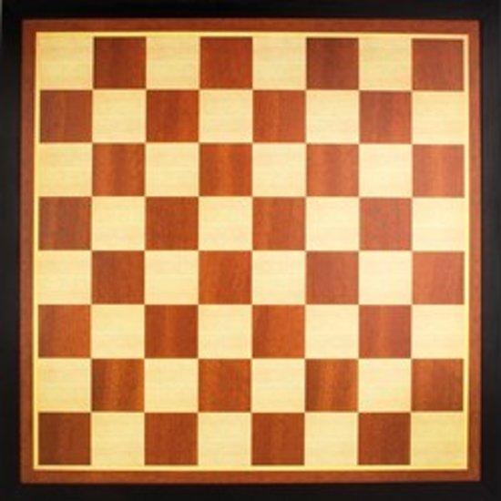 Schaakbord - Dambord - Schaak/Dambord - Damboard - Schaakboard - 54 x 54 cm