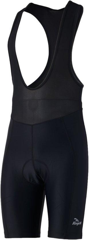 Rogelli Wielerbroek Basic met Bretels - Heren - Zwart - Maat XL