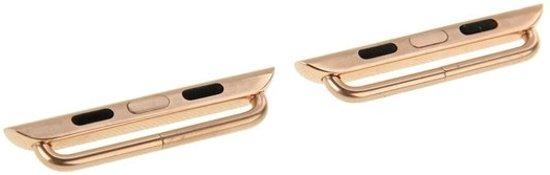 watchbands-shop.nl bandje - Apple Watch Series 1/2/3/4 (38&40mm) - Goudkleurig