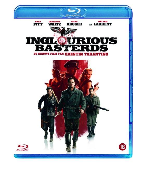 DVD cover van Inglourious Basterds (Blu-ray)