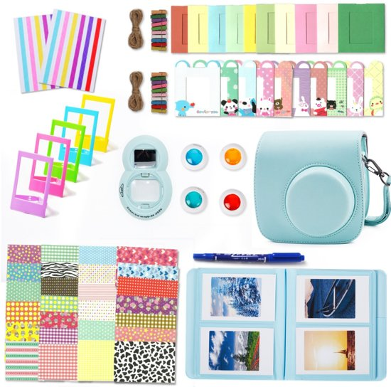 10-in-1 Fujifilm Instax Accessoires Pakket - Turquoise