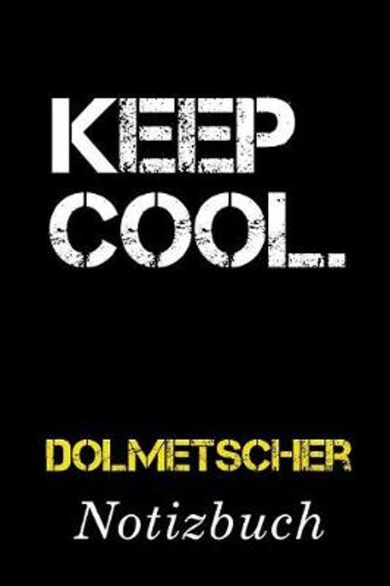 Keep Cool Dolmetscher Notizbuch