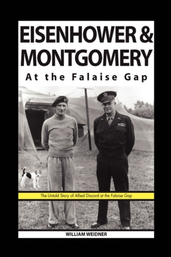 Eisenhower & Montgomery at the Falaise Gap