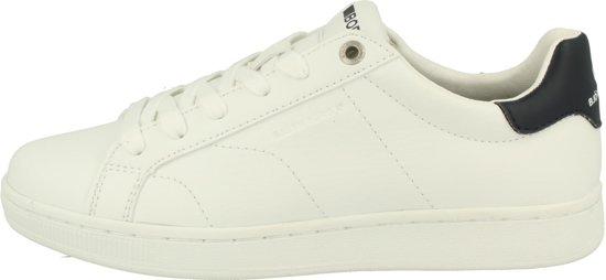4901e7593f7 bol.com | Bjorn Borg T305 LOW CLS W wit blauw sneakers dames