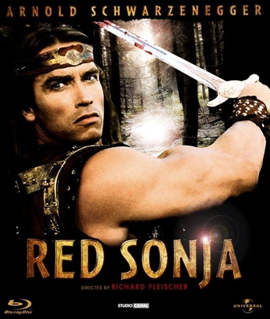 Cover van de film 'Red Sonja'