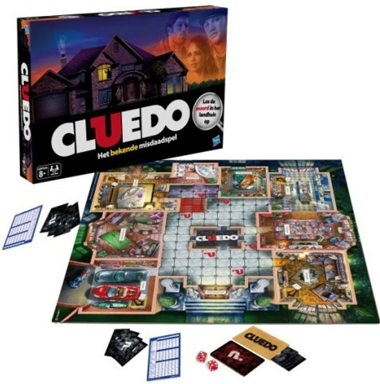 Thumbnail van een extra afbeelding van het spel Cluedo - Bordspel