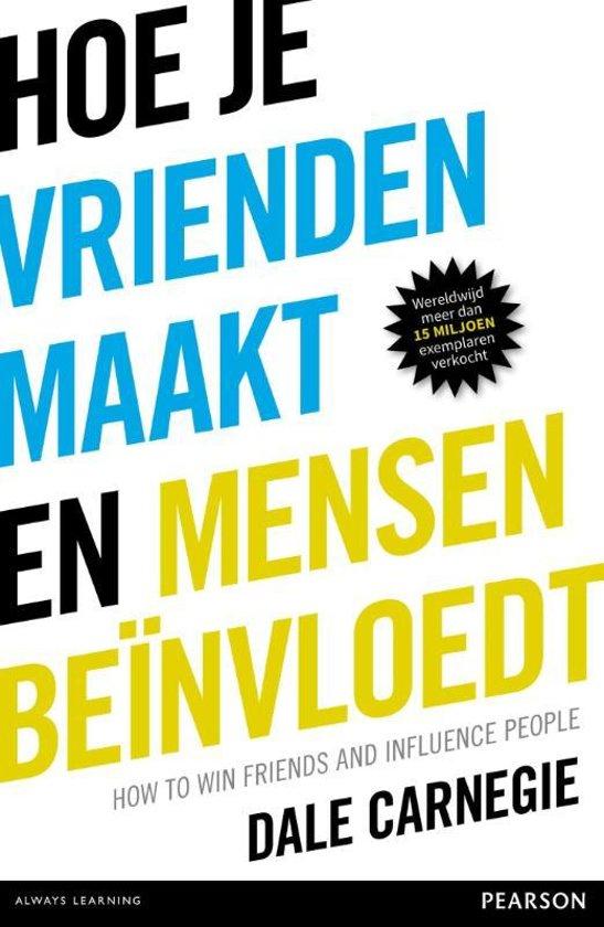 Boek cover Hoe je vrienden maakt en mensen beïnvloedt van Dale Carnegie (Onbekend)