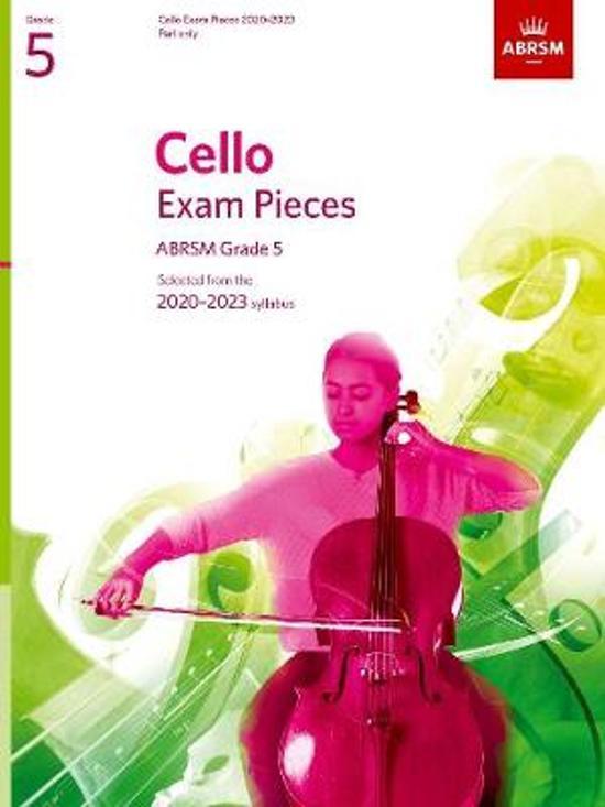 Cello Exam Pieces 2020-2023, ABRSM Grade 5, Part