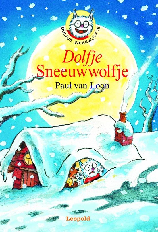 Boek cover Dolfje Weerwolfje 8 - Dolfje Sneeuwwolfje van Paul van Loon (Onbekend)
