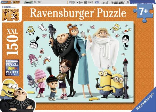 Ravensburger Despicable me 3 Gru en zijn familie - legpuzzel - 150 stukjes