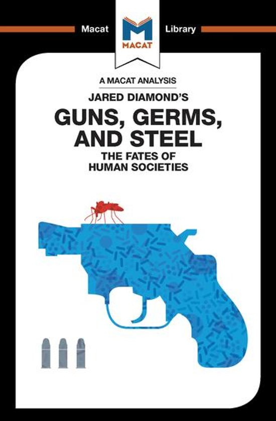 an analysis of the main theme in guns germs and steel by jared diamond Guns, germs, and steel chapter 8 in chapter 8 of guns, germs & steel diamond makes the comparison between food-production in.