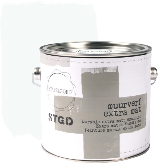 Stapelgoed - Muurverf extra mat - Lily white - Wit - 2,5L