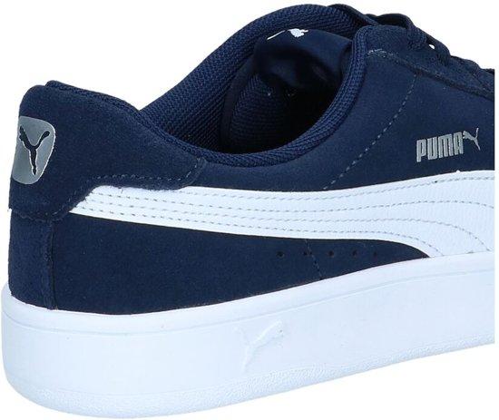 Navy Maat Puma Sneakers wit 46 Court Unisex Derby Breaker gqIw0z7